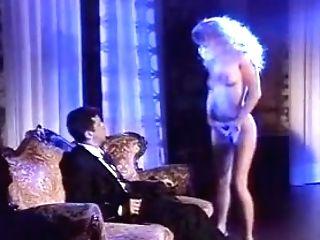 Beautiful Blonde Sucking And Railing Fuckpole