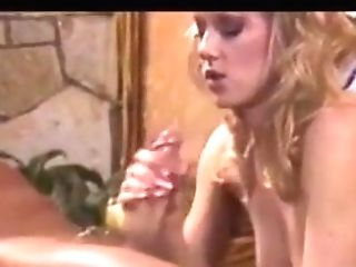 Blonde Beauty Works The Jizz Out Of A Man-meat ( Antique Loop )