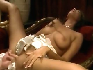 Puny Breast Stunner Rails On A Big Pulsating Dick