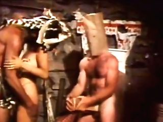 Incredible G/g Old School Scene With Indian Maiden And Mike Ranger