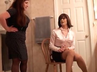 Crazy First-timer Shemale Movie With Bondage & Discipline, Stockings Scenes