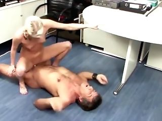 Old Professor Tricks Youthful German Nubile To Fuck At School