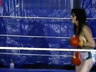Retro Braless Boxing