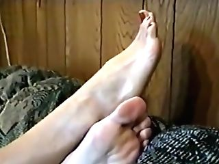 Antique Crystal's Big Feet