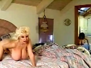 Two Gorgeous Retro Natural Tits Ladies Frigging Beaver