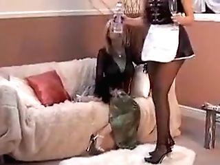 Pantyhose Maid